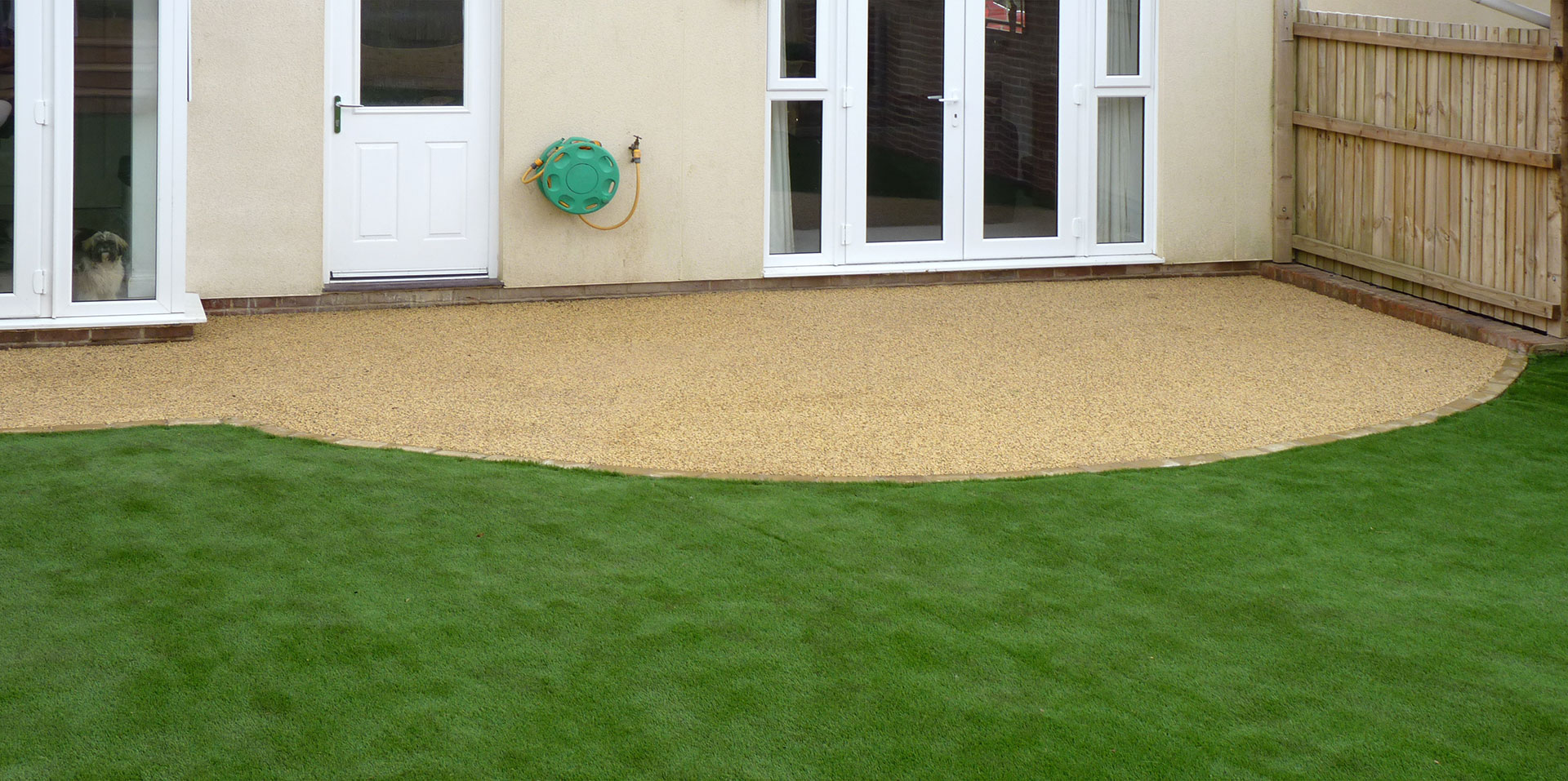 Exterior Resin Bound Patio