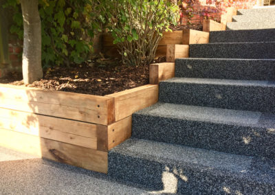 Resin Bound Stone Stairs
